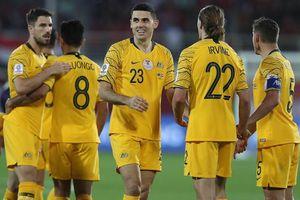Thắng kịch tính Syria, Australia theo chân Jordan vào vòng 16 đội