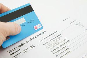 Các thông tin về sao kê thẻ tín dụng
