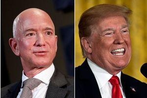 Ông Trump 'đá xoáy' tỷ phú Jeff Bezos vì ly hôn, phải chia đôi tài sản