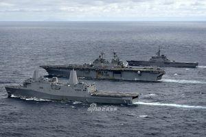 Chưa cần tàu sân bay, biên đội Hải quân Mỹ - Nhật đã khiến Trung Quốc 'phát sốt'