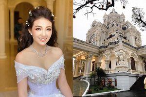 Cận cảnh 'tòa lâu đài' 7 tầng của gia đình cô dâu đeo vàng trĩu cổ ở Nam Định