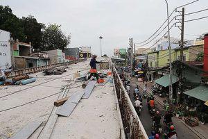 Thông xe nhánh cầu vượt 'khó nhất' nút Nguyễn Kiệm