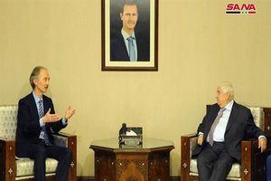 Syria sẵn sàng 'bắt tay' với LHQ tìm kiếm giải pháp chính trị cho khủng hoảng