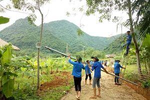 Phát huy sức trẻ trong xây dựng nông thôn mới