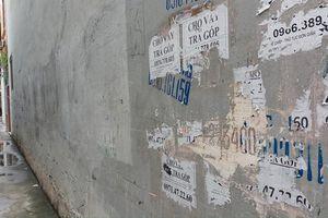 Sạch trơn các biển quảng cáo 'tín dụng đen' tại Thanh Hóa
