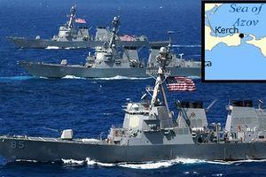 Nga có thể trấn áp tàu chiến NATO theo Ukraine vào Azov