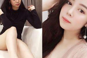 Đời thực hot girl bị chê phản cảm vì mặc sexy ngồi trên vai em trai Xuân Hinh