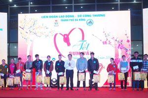 Tặng 3.000 suất quà Tết cho người lao động Đà Nẵng