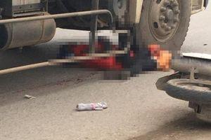 Nữ công nhân 9X chết thảm dưới gầm xe tải