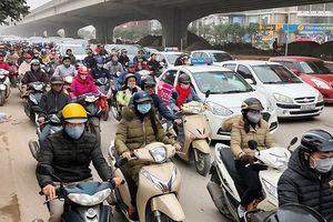Đề xuất cấm xe máy từ vành đai 3 ở Thủ đô