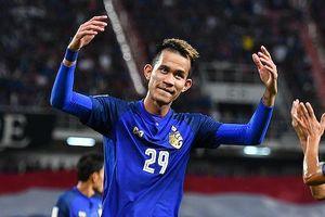 Tuyển Thái Lan mất ngôi sao ở vòng 1/8 Asian Cup 2019