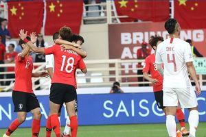 Trung Quốc gặp Thái Lan ở vòng 1/8 Asian Cup 2019