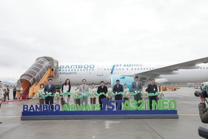 Bamboo Airways đón máy bay thế hệ mới A321NEO, khởi hành chuyến bay thương mại đầu tiên