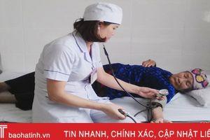 Gần 90% người trên 40 tuổi ở Hà Tĩnh được đo huyết áp