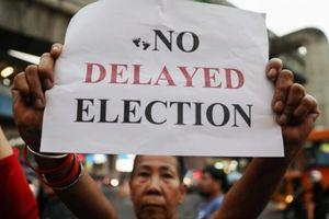 Thái Lan lại dời ngày tổng tuyển cử