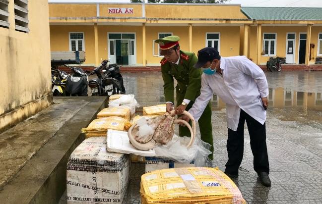 Bắt giữ hơn 700 kg sản phẩm động vật không rõ nguồn gốc