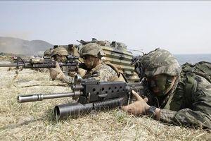 Hàn-Mỹ xem xét đổi tên cuộc tập trận 'Giải pháp then chốt'