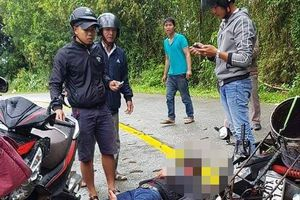 Va chạm giữa 2 xe máy, 2 người nhập viện nguy kịch