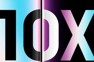 Samsung Galaxy S10X sẽ là tên gọi cho phiên bản 5G