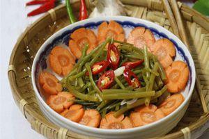 CLIP: Cách làm rau muống ngâm chua ngọt, giòn ngon lạ miệng cho ngày Tết