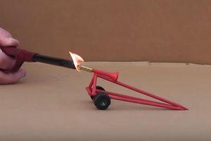 Cháy mặt vì... dùng máy xay sinh tố trộn lưu huỳnh với KClO3 để làm pháo