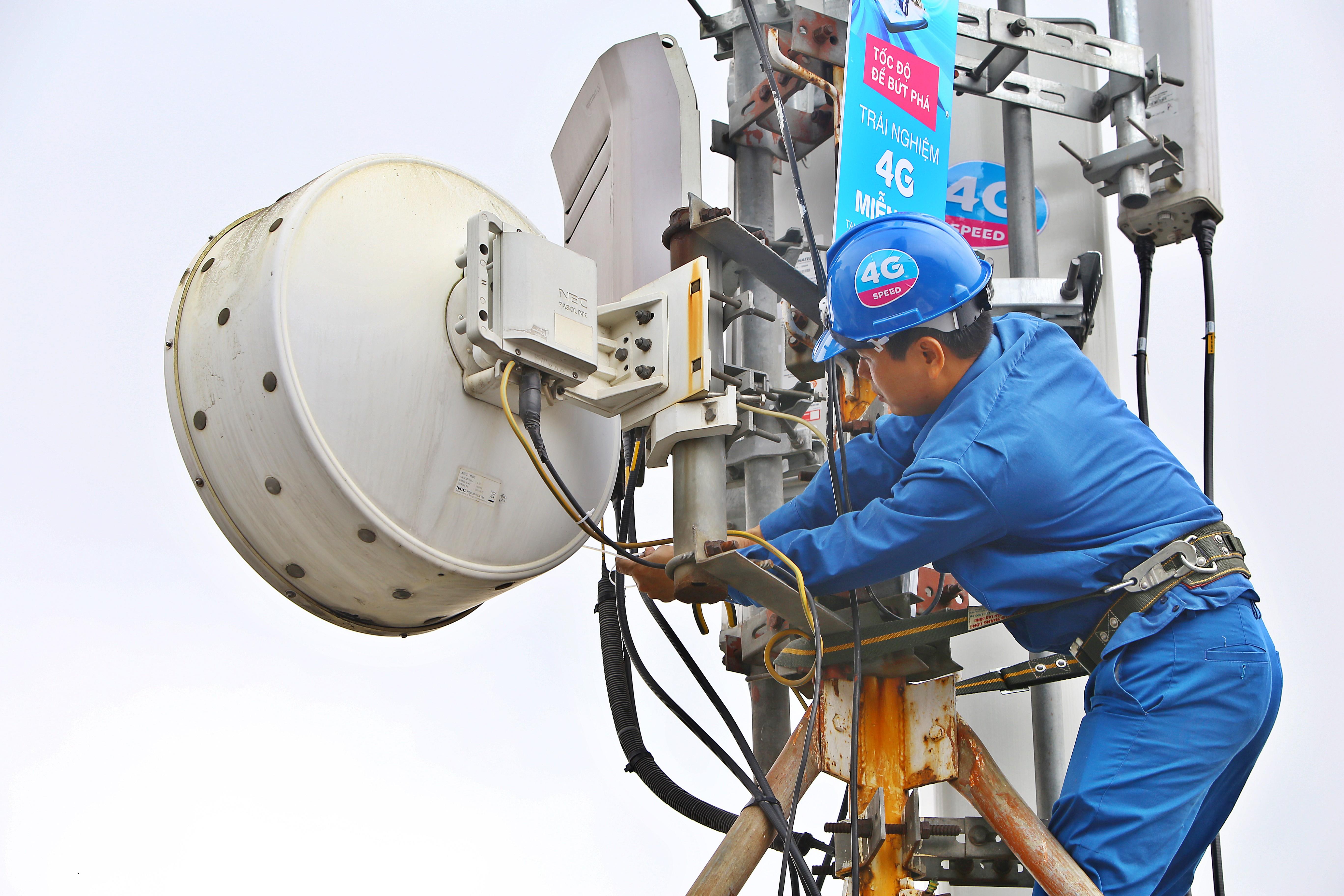 Năm 2019, VNPT đẩy mạnh vùng phủ sóng 4G theo nhu cầu của thị trường