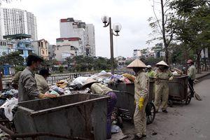 Hà Nội: Dồn sức xử lý rác thải tồn đọng