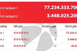 Giải Jackpot Vietlott hơn 77 tỷ đồng 'nổ' đầu năm mới: Tỷ phú Bình Dương ăn tết đậm!