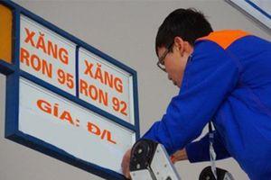 Giữ nguyên giá bán lẻ xăng dầu sau 5 kỳ giảm liên tiếp