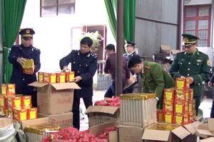 Lạng Sơn: 4 ngày bắt hơn 3 tấn pháo