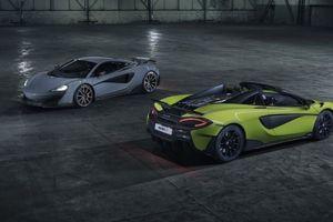 McLaren 600LT Spider có giá từ 5,96 tỷ VNĐ, tốc độ tối đa đạt 323 km/h