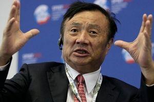 Liên tục bị Mỹ 'tấn công', ông chủ Huawei lên tiếng