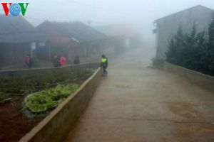 Lai Châu, Lào Cai mưa diện rộng, rét đậm rét hại bao phủ