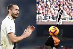 Đội hình siêu tấn công theo sơ đồ 4-3-3 của Juventus trận gặp AC Milan
