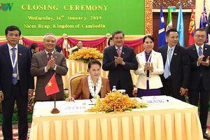 Chủ tịch Quốc hội dự phiên bế mạc Diễn đàn Nghị viện Châu Á-TBD 27