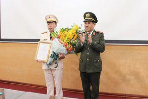 Bổ nhiệm Trưởng Phòng Cảnh sát kinh tế CATP Hà Nội