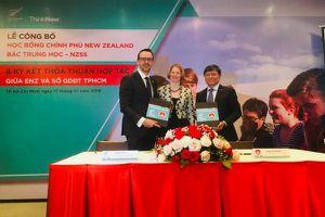 New Zealand cấp 4 tỉ đồng học bổng cho học sinh Việt Nam