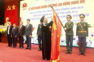 Huyện Hoài Đức đón nhận Huân chương Lao động hạng Nhì