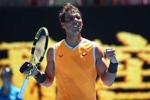 Sức mạnh áp đảo, Nadal vùi dập Ebden 3-0 ở vòng 2 Australian Open