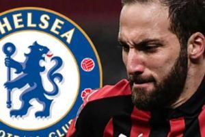 CHUYỂN NHƯỢNG (17.1): Chelsea đạt thỏa thuận mượn Gonzalo Higuain