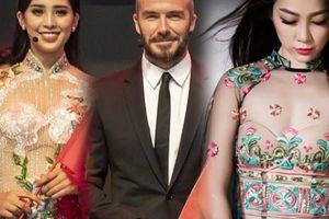 Nội y nào cho áo dài xuyên thấu Tiểu Vy mặc khi gặp Beckham?