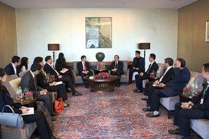 Trưởng Ban Kinh tế T.Ư tiếp Đoàn đại biểu Trung Quốc tham dự Diễn đàn Kinh tế Việt Nam