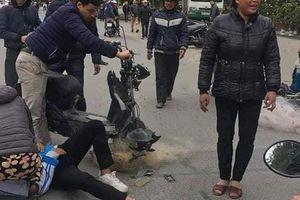 Thực hư việc CSGT Thanh Hóa 'quăng lưới' trúng học sinh té ngã
