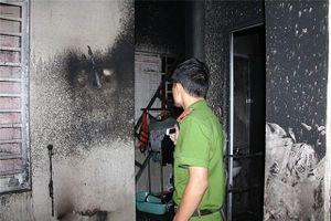 Nhân viên bảo vệ chết cháy ở chòi lá công ty bò sữa