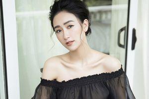 Hà Thu khoe vẻ đẹp tinh khôi đầy cuốn hút trong bộ ảnh đầu năm 2019