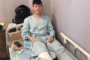 Đình Trọng phẫu thuật thành công, gửi lời chúc mừng đến đội tuyển Việt Nam