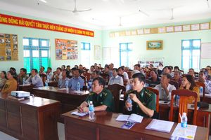 Tập huấn thực hiện phong trào toàn dân tham gia bảo vệ chủ quyền lãnh thổ