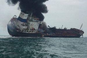 Cháy tàu ở Hồng Kông: Thi thể 2 thuyền viên Việt Nam đã được tìm thấy