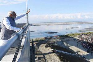 Ấn Độ chi tiền tỉ xây đường chuyển quân tốc hành dọc biên giới Trung Quốc