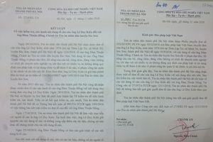 Tố cáo Chánh án TAND huyện Sóc Sơn 'quan hệ bất chính' là không có căn cứ